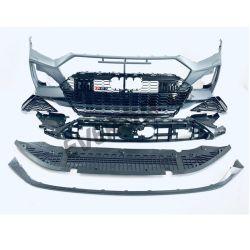 Корпус из углеродного волокна RS7 стиле передний бампер в сборе комплекта кузова для Audi A7 2019-2021