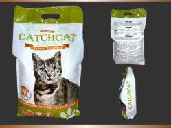 Nuovi poli sacchetti dalla nostra marca di Catchcat con assorbimento veloce e forte agglutinamento e controllo eccellente di odore e lettiera bassa della bentonite della polvere con i profumi
