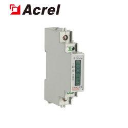 L'ADL10-E/C Phase unique numérique Mini mesure Subentry dédié industriels LCD Compteur d'énergie sur Rail DIN mesureur de puissance avec Modbus RS485 pour armoire de distribution