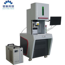 UV Laser Marking machine Marking Plastic Barrels/UV Laser Marking machine Glas wijn glazen