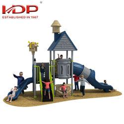 Fournisseur de la Chine l'école les enfants Aire de jeux de plein air de jouets en plastique Diapositive combiné pour les enfants style populaire en Asie du Sud-Est avec TUV/ASTM