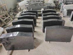 최신 판매 절대적인 까만 화강암 Serp 최고 강직한 기념물 묘석