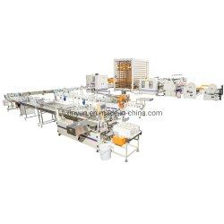 Papel Higiénico automático de la línea de producción de la máquina