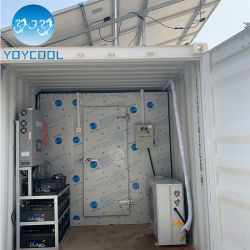 도축장에 최고의 주거용 태양열 발전 시스템 콜드 룸