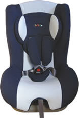 Baby-Auto-Sitz mit CER En13356