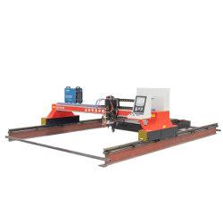 Bock CNC-Plasma/Flamme-Ausschnitt-Maschine für das Kohlenstoffstahl-Edelstahl-Metallblatt, das 120A 200A 300A 400A Plasma-Scherblock-Preis 3000*6000mm aufbereitet