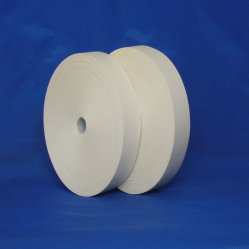 Tissus de fils cardés Edge hors bande de tissu de coton blanc/(CT301)