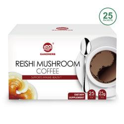 OEM de In het groot Zwarte Koffie van Ganoderma van de Koffie van Lingzhi van de Koffie Reishi