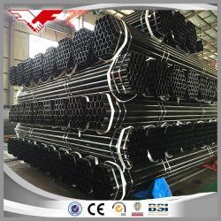 La norme ASTM A53/API 5L Gr. B L'annexe 40 Noir de tuyaux en acier restes explosifs des guerres de tuyaux en acier de soudure pour le pétrole, gaz, pipe à eau