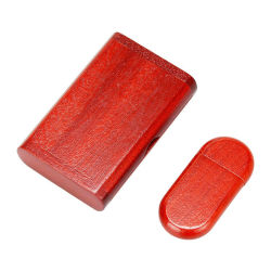 Portable USB Flash Drive, Custom Company Logo32GB, 512GB Platte-ultradünne Fabrik-Großverkauf-Tasten-festes Holz des Metallu, elegant