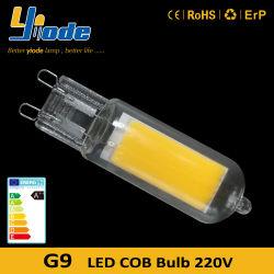 판매 25W G9 할로겐 전구 동등물을%s 온난한 백색 G9 LED 3W 전구