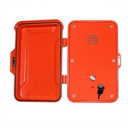 Caixa de telefone à prova de intempéries, IP67 caixa Telefone impermeável com a porta