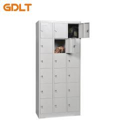 새로운 스타일의 18 Door Locker Steel Storage Locker Multi-Door 락커 판매