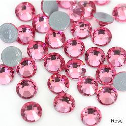 Heißer Verlegenheitgroßhandelsrhinestone Ss16 Rose, QualitätRhinestone für Nagel-Kunst-Dekoration