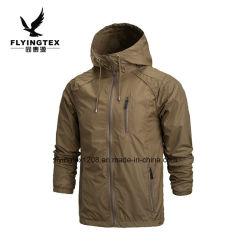 Los hombres nueva primavera otoño chaqueta con capucha abrigo Casual prenda exterior