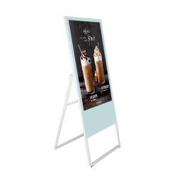 Draagbare LCD van de Monitor van het Scherm van advertenties Digitale huisvest Signage het Model van 32 Duim LCD van de Steun van de Muur van de Speler van de Reclame Video Digitale Signage
