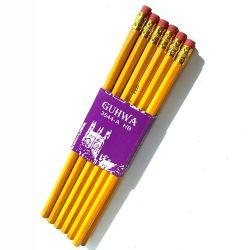 黄色い鉛筆を詰める12 PCS/Setのペーパーベルト