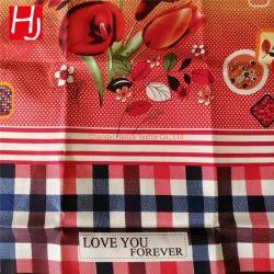ロール布物質的なファブリック織物の敷布の100%Polyesterによって編まれるマイクロファイバーファブリック