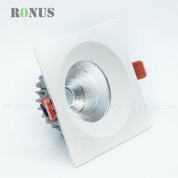Revêtement en poudre vers le bas de rafles de lumière LED 30W, 40W Downlight ampoule lampe LED intérieure de l'éclairage de plafond