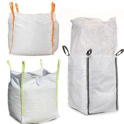 L'industrie chimique 1000 kg emballage en plastique PP tissés Jumbo grand sac sac en vrac, FIBC