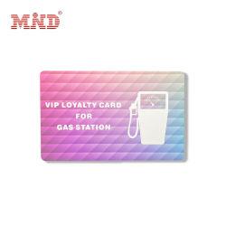 Logo personnalisé Station Virtuelle carte de crédit pour l'essence