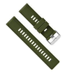22mm腕時計のための速いストラップの置換のシリコーンの時計バンド