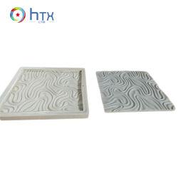 Muffa decorativa di pietra coltivata del silicone dei comitati del blocchetto della parete 3D