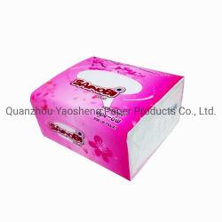 Custom Soft Pack Facial Tissue Paper 2ply 100% Virgin Pulp Materiaal 300 vellen
