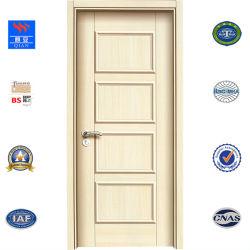 Panel-Entwurfs-Melamin MDF-Tür-Haut geformte Tür für Foshan-Fabrik (SM-JY-015)