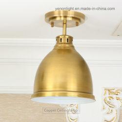 Colgante de cobre de los Estados Unidos la mitad de la luz de lámpara colgante lámpara de araña