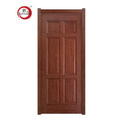 As vendas de boa qualidade de madeira sólida porta MDF PVC barata