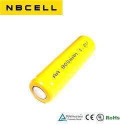 حزمة بطارية NCd قابلة لإعادة الشحن بقوة 1.2 فولت AA 800 مللي أمبير/ساعة من NiCd