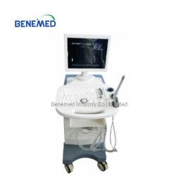 Carrello Premium Costruire-nella strumentazione in bianco e nero di sistema diagnostico dello scanner di ultrasuono