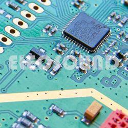 PCB 2 Camadas da placa rígida do FR4 1,6Mm 1oz cobre ouro Placa de Circuito Impresso