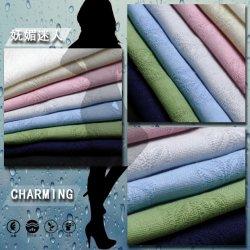 35%Rayon 30%35 Algodão%linho tecido Jacquard para blusas blusa
