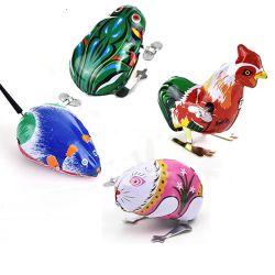 As crianças as crianças clássico Frango Mouse Estanho Educacional Frog um relógio wind-up Brinquedos Vintage