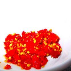 Spezie grezze senza dimora, peperoni di peperoncino piccante, spezie commerciali
