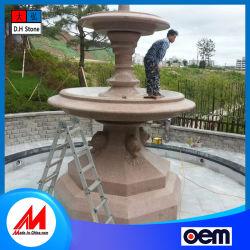 Décoration de jardin personnalisable de pierre et marbre granit Craft