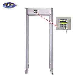Высокий уровень безопасности Super популярных ходьбы через металлоискатель (JH-33Z)