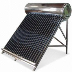 Toit non pressurisé pression chauffe-eau solaire tuyaux Geyser solaire solaire solaire des tubes à vide du système solaire projet SOLAIRE panneau solaire