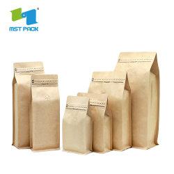 Carta Kraft Riciclabile Economica All'Ingrosso In Sacchetti Chicchi Di Caffè
