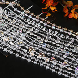 Tenda di plastica acrilica/branelli di cristallo del vestito dalla decorazione/cerimonia nuziale dell'albero/prodotto di plastica