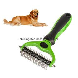 Инструмент для ухода за телом Пэт 2 сторонняя наклонная поверхность подложки для кошек и собак - сейф Dematting гребень для простоты коврики и путаются снятие - Пэт Brush-Cat Grooming-Grooming инструмент Esg10690