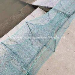 Exploração do Mar de HDPE de nylon monofilamento de poliéster Camarão Automática de plástico pequeno compartimento de caranguejo para venda das redes de pesca
