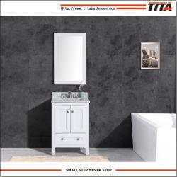 Haut de la vanité Salle de bains en marbre t9310-24W
