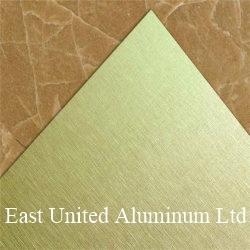 Revêtement de surface de la brosse vierge personnalisée Sublimation feuille en aluminium/plaque