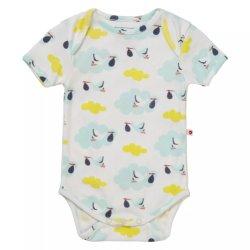 Vestuário para bebé impressão água Eco-Friendly Kids vestido de malha