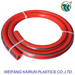 Trenzado de fibra de plástico de PVC reforzado de manguito de tubo Tubo de goma de mezcla de gas/gas/aceite/agua