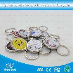 Haut de la qualité La RFID passive de gros autocollant NFC, prix d'usine étiquette RFID, hautes performances compatible carte Crystal de la colle époxy