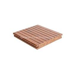 Le sol en bambou tissées des brins de plein air le plus bas prix de vente en gros le pontage